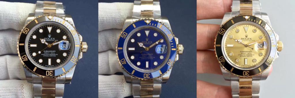 Rolex Submariner V8 24k 3135