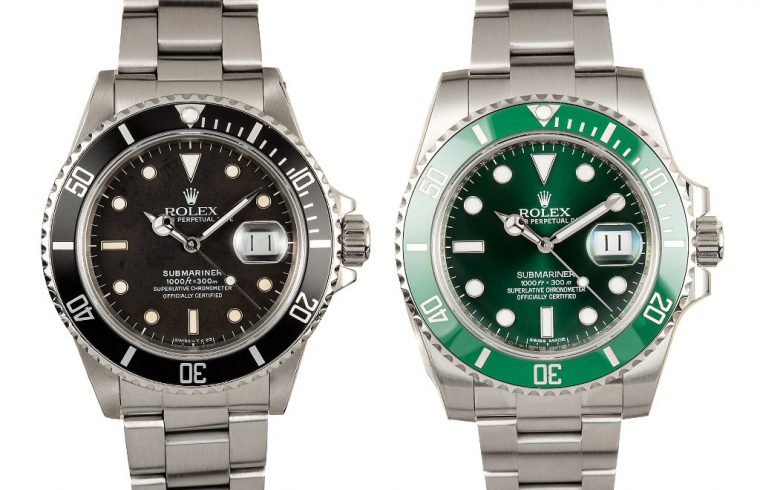 Rolex Submariner V10 Green and Black